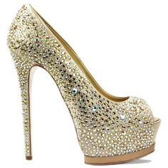 Gianmarco Lorenzi Black Label pumps covered with Swarovski crystals 6c0415fafcc