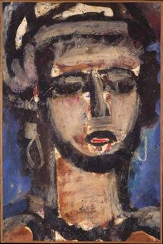 """He replied """"Georges Rouault...because his lines contain the weight of life."""""""
