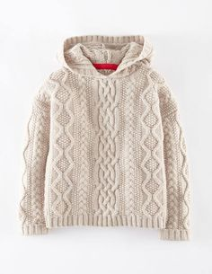 Cosy Cable Throw-on 31817 Cardigans at Boden