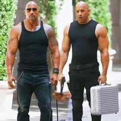 Luke Hobbs & Dominic Toretto