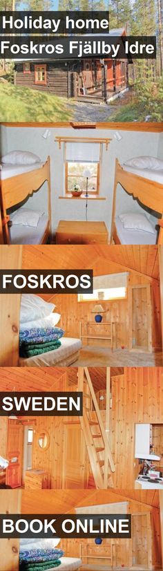 Hotel Holiday home Foskros Fjällby Idre in Foskros, Sweden. For more information, photos, reviews and best prices please follow the link. #Sweden #Foskros #HolidayhomeFoskrosFjällbyIdre #hotel #travel #vacation