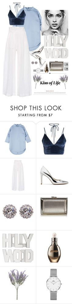"""""""She is his pearl 💍❄️"""" by youngsmile ❤ liked on Polyvore featuring Three Graces, Stuart Weitzman, Ted Baker, La Mer and Daniel Wellington"""