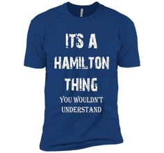 100% Cotton - Imported - Machine wash cold with like colors, dry low heat - Discount for a Limited Time! Previous Price: $19.99. Don't miss it out. I love my name HAMILTON, I Love Name T-Shirts HAMILT