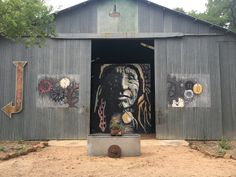 Nic Campbell Art Gallery at Sisterdale, Tx