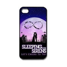 Sleeping with Sirens Lover Kiss 8 iPhone 4 4S Hard Cover Case Best... ($9.01) ❤ liked on Polyvore featuring accessories, tech accessories, phone cases, phone and sleeping with sirens