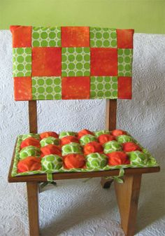 Puff Quilts- truly how to!!