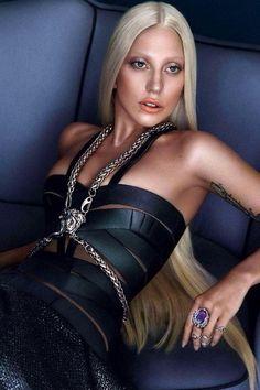 Face of Versacé Gaga