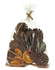 John Lewis Scented Pine Cone Bag - I'm going to pile these up in our unused fireplace for good looks and nice smells. Christmas Carol, First Christmas, Christmas Ideas, Unused Fireplace, Scented Pinecones, Snowflakes Falling, Fair Isle Pattern, Christmas Table Decorations, Twinkle Lights