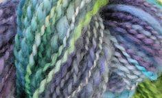Handspun wool/alpaca yarn