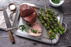 St Paddys: Roast beef with gremolata