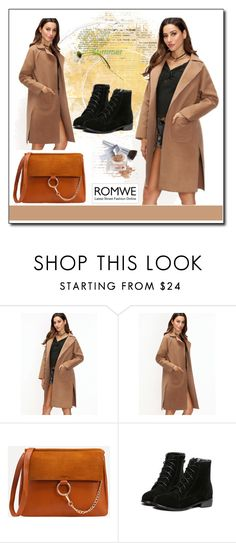 """""""ROMWE 6"""" by aida-1999 ❤ liked on Polyvore featuring Christian Dior"""