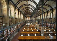 Bibliothèque Sainte Geneviève Paris