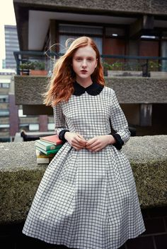 The Front Row View: Madison Stubbington for Orla Kiely Autumn/Winter 2015 Campaign