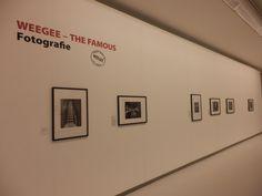 Der erste Ausstellungsraum zeigt eine Zusammenschau von Weegee's Themen. Foto: LUDWIGGALERIE