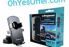 Amazon - Bergmann Auto Grip XL Automatic Mobile Holder Rs. 49