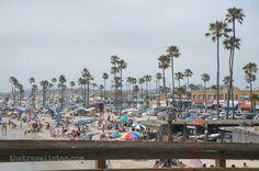 Newport Beach Pier | View of Newport Beach from the Pier