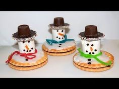 Share this simple coffee filter snowman craft this winter for an easy winter craft to make with kids! Perfect for early ages too! Snowman Tree, Snowman Crafts, Diy Crafts To Do, Easy Crafts, Melted Snowman, Beautiful Desserts, Winter Crafts For Kids, Christmas Makes, Party Desserts