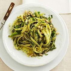 Lemon-Basil Pasta  5 star rating.  makes 4 serv  quick  25 min.   Midwest Living.