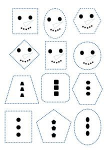 Bonhommes de neige Christmas Arts And Crafts, Winter Crafts For Kids, Winter Kids, Winter Art, Winter Theme, Montessori Activities, Preschool Crafts, Preschool Activities, Christmas Worksheets