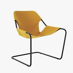 Paulo Mendes da Rocha - While he worked mainly as an architect—and won the Pritzker Prize—Mendes da Rocha's scoop chairs are still a popular and classic piece.Paulistano outdoor armchair, $1,250, dwr.com