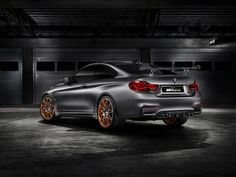BMW has again used a world-class concours event to reveal a new concept car. The racing version of the CSL Hommage first revealed at Villa d'Este will go on display at the Pebble Beach Concours d'Elegance… Bmw Concept, Lamborghini, Ferrari, 2016 Bmw M4, 2017 Bmw, Rolls Royce, Nova Bmw, M4 Gts, Porsche