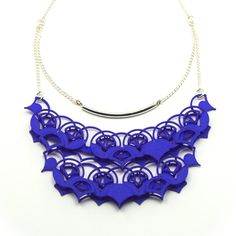 Modern Statement necklace / 3D Printed Jewelry! Maybe something for 3D Printer Chat?