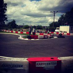 Pierwszy wyścig. 50 okrążeń na 50-lecie Władysławowa. 30.06.2013.