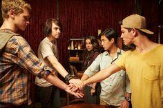 Nowhere Boys! Season 1! Sam, Jake, Andy, Felix and fibi