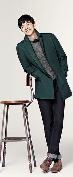 Gong Yoo.. so classy... so handsome.. :')