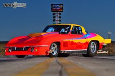 Rick Thornton's Immaculate Outlaw Drag Radial 1965 Corvette