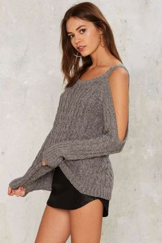 This knit's all yours, babe.
