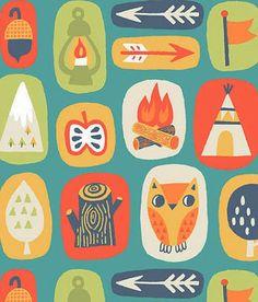 print & pattern: FABRICS - allison cole