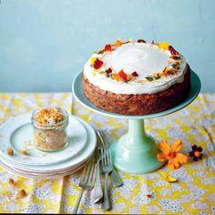 Abrikozen-wortelcake met frosting recept - Jamie magazine