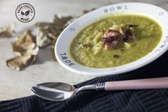Herfst soep met zuurkool en spekjes
