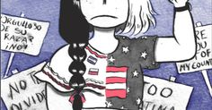 """""""Gringa"""" is a mini comic about self-discovery and acceptance."""
