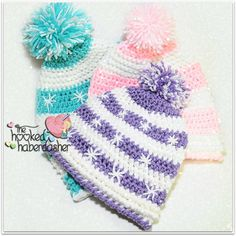 Snowlicious Slouchy Hat free