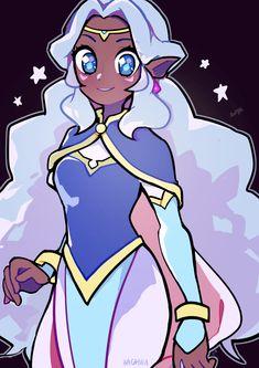 Allura by hacchu Voltron Klance, Voltron Allura, Voltron Force, Form Voltron, Black Girl Art, Art Girl, Klance Fanart, Princess Allura, Space Princess