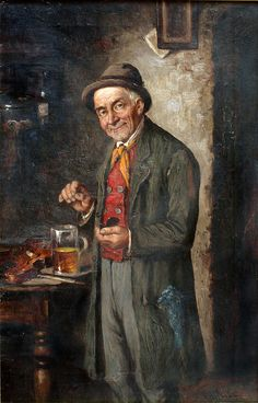 Snuff & Snuffboxes (Man Taking Snuff in the 1800s)