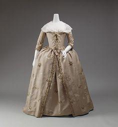 Robe à l'Anglaise 1750-1775 The Metropolitan Museum of Art