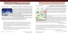 """Mena Senatore's """"The Crystal Castle"""" and Valeria Salvatore's """"The Flower on the Little Cloud and Other Tales""""."""