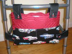 Vintage Cars print Walker Bag by GrandmaTsCrafts on Etsy, $20.00