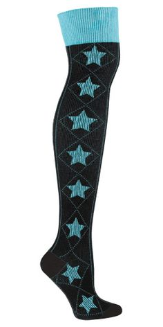 OTK Star Blue   SockItToMe.com