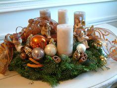 Christmas wreath - Couronne de l'Avent / Advent Kranz