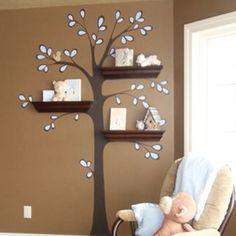 Great indoor tree idea!