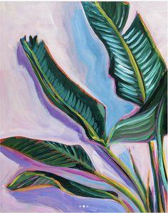 Gallery - Sari Not Sorry Art by Sari Shryack Plant Painting, Plant Art, Painting & Drawing, Painting Inspiration, Art Inspo, Guache, Tropical Art, Botanical Art, Flower Art