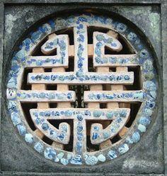 Symbole de longevite - Citadelle de Hue - Vietnam copyright guide-de-voyage.com