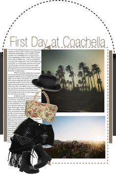 """First day of Week 1 Of Coachella"" by twiluv18 ❤ liked on Polyvore"