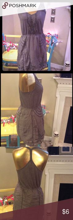 American Eagle small knit dress Very cute and lined.  Used condition with tons of wear left. American Eagle Outfitters Dresses Mini