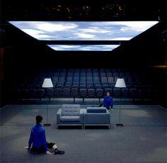 Shiro Takatani Bühnen Design, Event Design, Set Design Theatre, Stage Design, Conception Scénique, Projection Installation, Experimental Theatre, Dream School, Nocturne