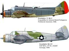 . . . O Bristol Beaufighter foi um caça pesado britânico que entrou ao serviço da Royal Air Force (RAF), um ano depois do ini...